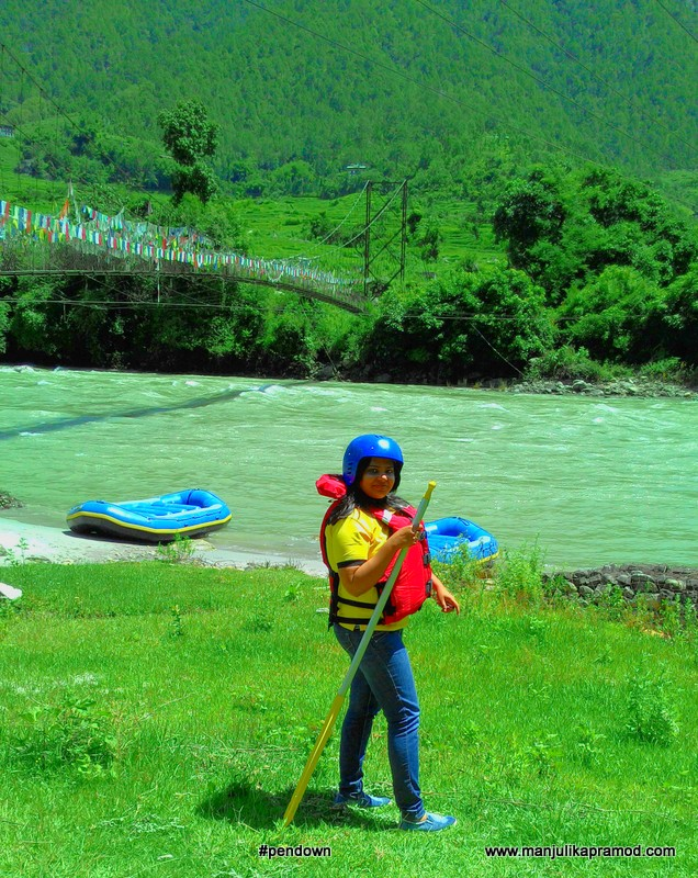 River rafting, Mo chu river