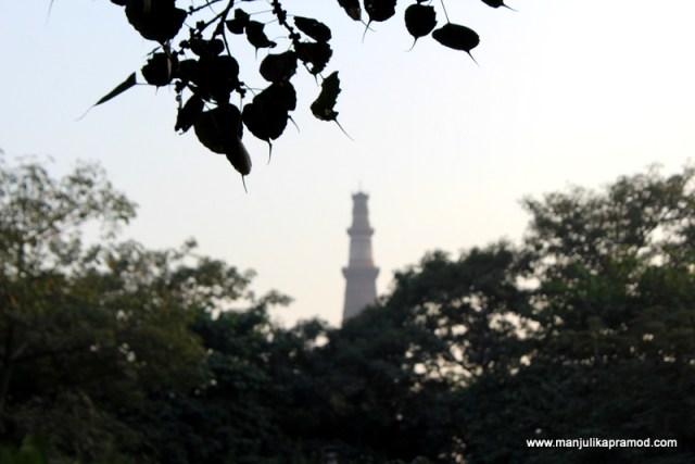 Qutub Minar, Qla