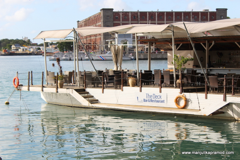 a colorful day at le caudan waterfront mauritius