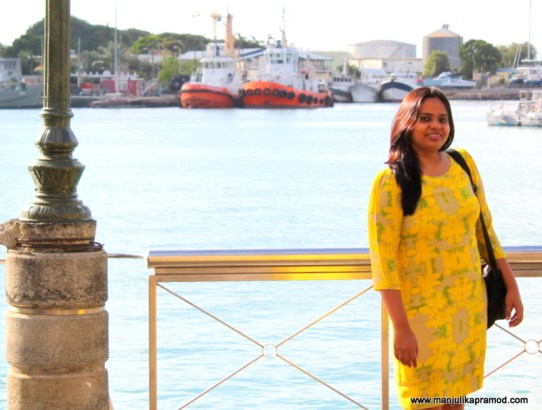 A COLORFUL DAY AT LE CAUDAN WATERFRONT, MAURITIUS