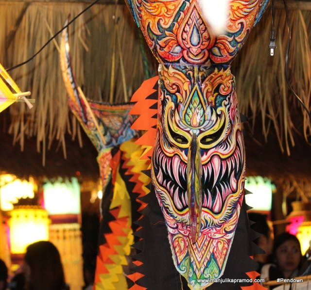 A picture of Thai mask