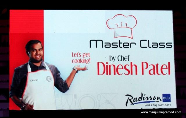 Master class, Chef Dinesh Patel
