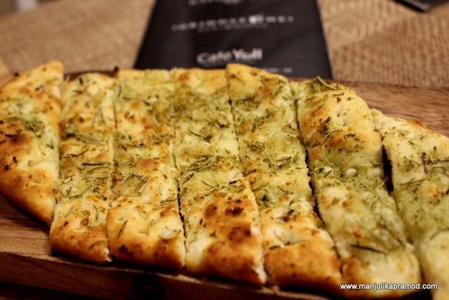 Rosemary Garlic Bread, Cafe Yell