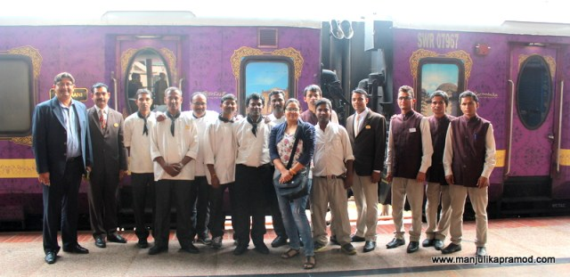 The staff of Golden Chariot that made this journey super fun