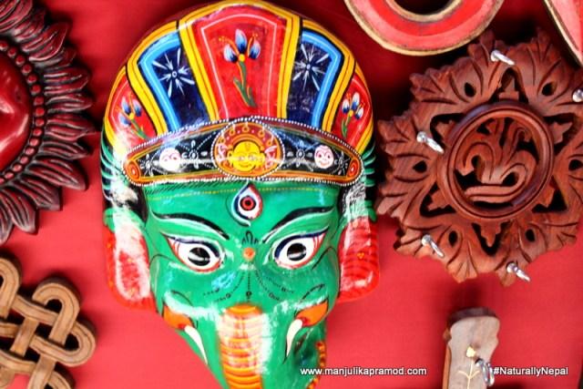 Thamel is a colorful street in Kathmandu