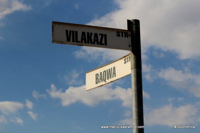 Baqwa street in Soweto