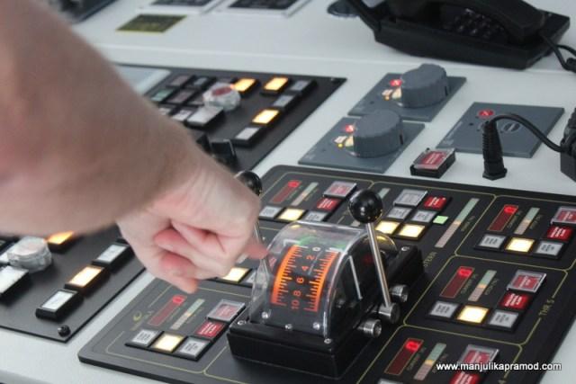 Controls of the ship, Princess Cruise