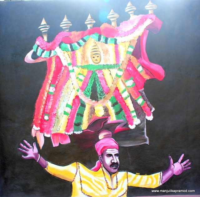 Celebrations and festivties depicted through art