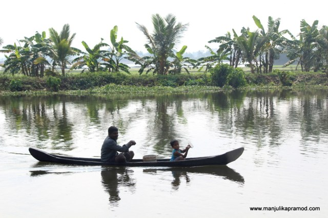 Kerala, Backwaters,