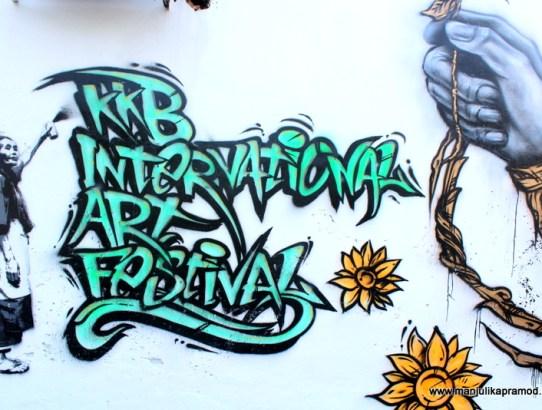 Here I Bring Street Art from Kuala Kubu Bharu in Selangor