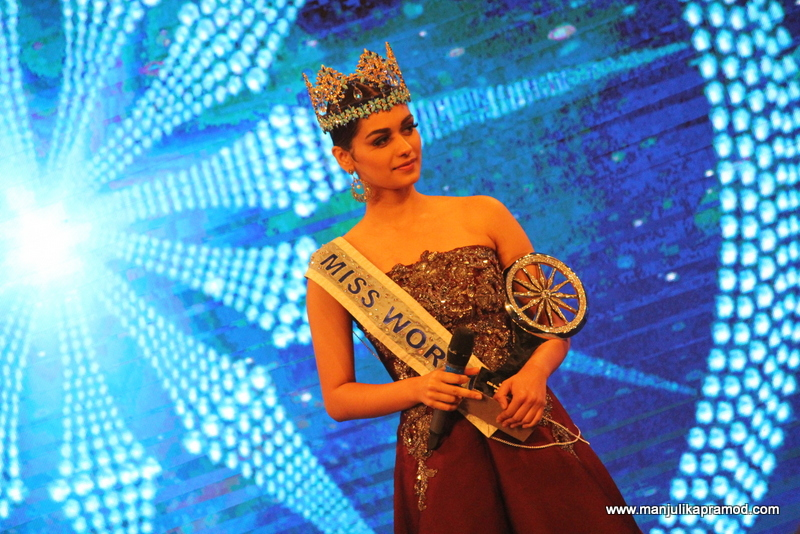 Indian of the Year, Manushi Chhillar