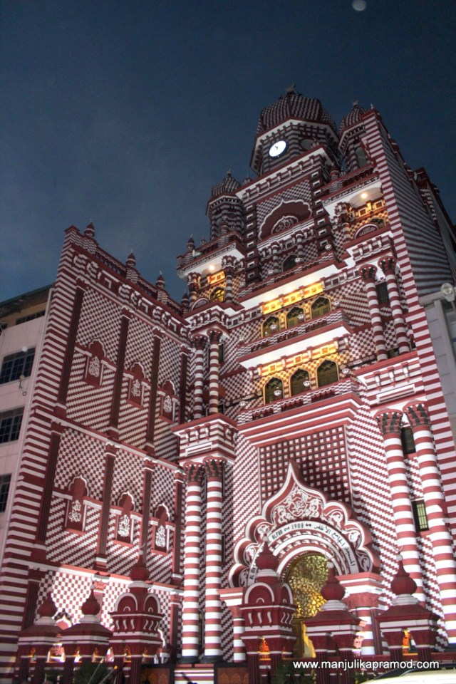 Red mosque, Colombo, Pettah