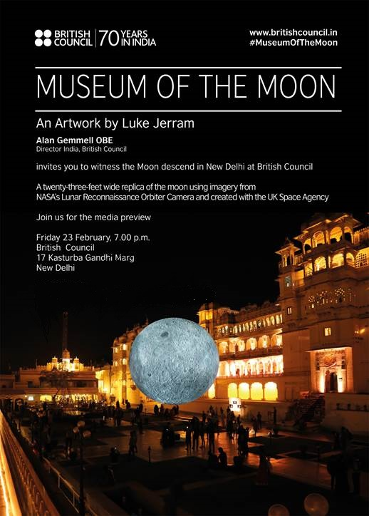 Luke Jerram's Museum of the Moon is touring India