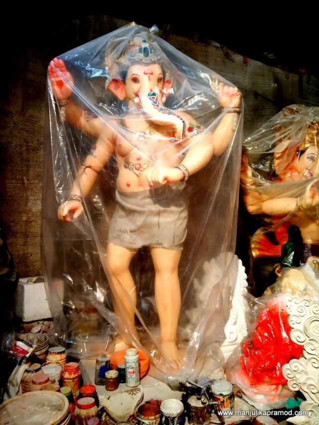 Making of Ganesha Idols