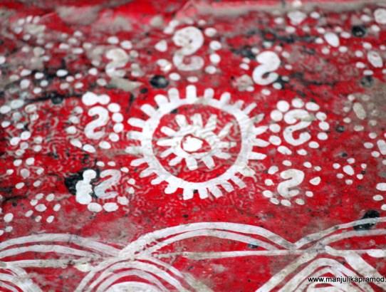 Aipan Art - Red and White Glory of Kumaon in Uttarakhand
