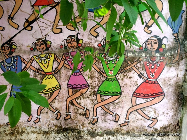 Wall art in Raipur
