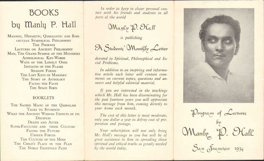 Manly P Hall - Letters to Students - Complete