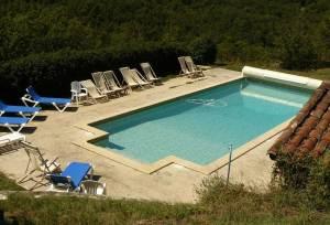 piscine  - grand gite au pays du Lot