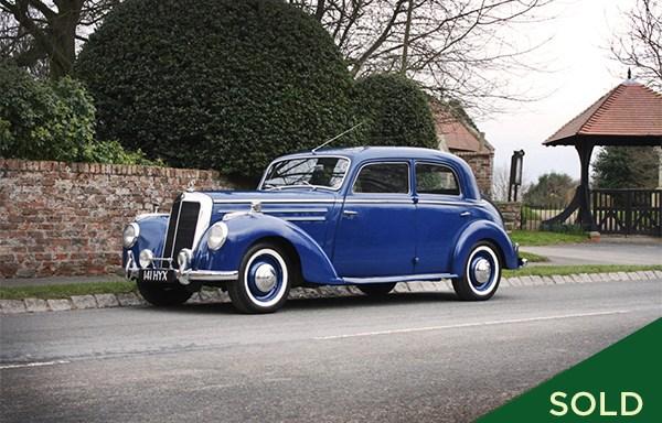 1954 Mercedes-Benz 220S Saloon