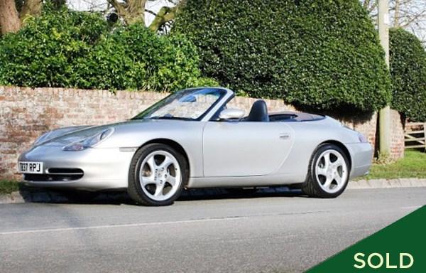 1999 Porsche 911 (996) Cabriolet