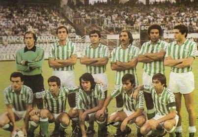 Alineación Betis-Las Palmas Liga 1980