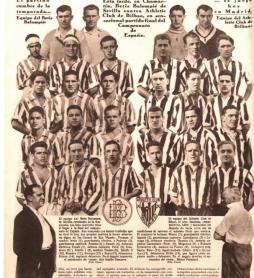 ¡Al fútbol¡ Final Copa Athletic-Betis 1931
