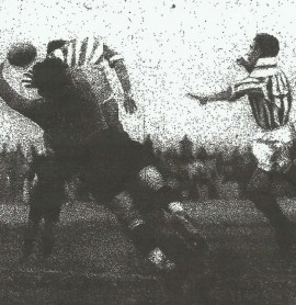 1934-Diciembre 09-Séptima Liga Primera: Betis Balompié-2 CF Barcelona-1.-80aniversario.