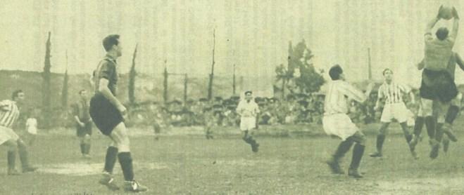 1934-Diciembre 16-Séptima Liga: Arenas Club Getxo-0 Betis Balompié-3.-80aniversario.