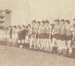 "1964-Enero 01-""Villamarín"": Real Betis Balompié-2 Wacker 04Berlin-0.-51Aniversario."