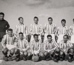 Alineación Ferroviaria-Betis Liga 1948