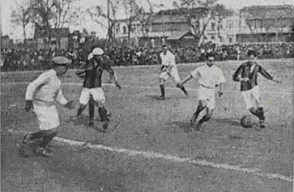1913-Febrero 23-Copa Sevilla 1912-Mercantil: Sevilla FbC-3 Betis FbC-0 goals.