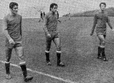 González y Quino con la selección 1970