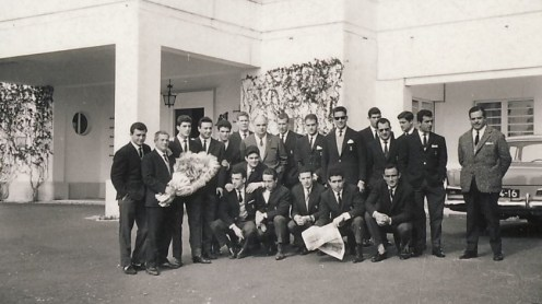 El Betis en Estoril 1963