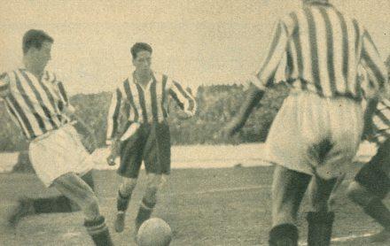 1935-Marzo 24-Patronato: Betis Balompié-2 Athlético Madrid-0.-80Aniversario-Datos Estadísticos.