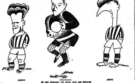 Dibujo de la defensa bética 1935