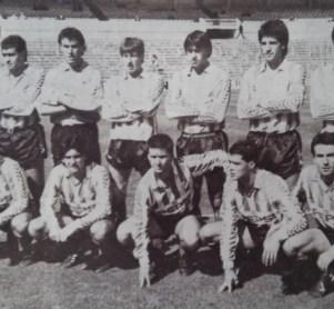 Alineación Castilla-Betis Liga 1990
