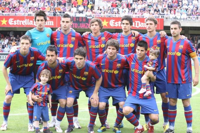 Visitamos al fc barcelona b historia del real betis for A que hora juega el barcelona hoy