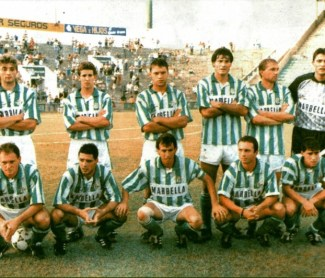 Alineación Betis-Vasco da Gama Trofeo Ciudad de Sevilla 1992