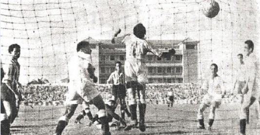 Betis-Balompédica Linense Liga 1954