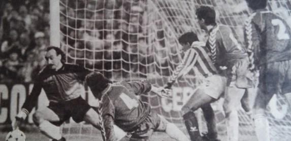 Betis-Burgos Liga 1989