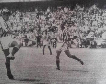 Betis-Mérida Liga 1992