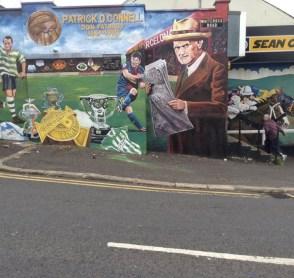 Homenaje a Patrick O´Connell en Belfast