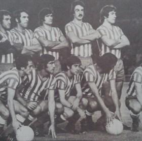 Alineación Real Madrid-Betis Liga 1974