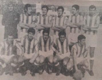 Alineación Moscardó-Betis Liga 1971