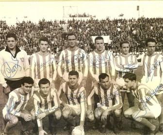 Alineación Betis-Real Sociedad Liga 1960