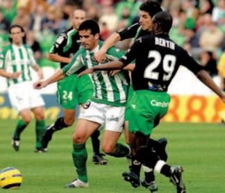 Betis-Racing de Santander Liga 2004