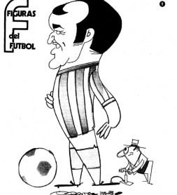 Figuras del Fútbol. Luis Del Sol