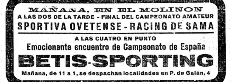 Betis-Sporting. Empate histórico en la Copa
