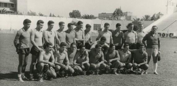 Entrenamientos del Betis 1958