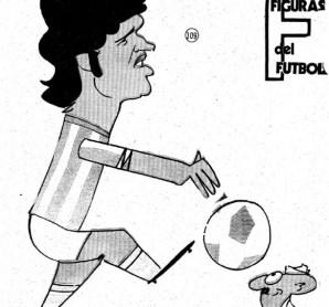 Figuras del Fútbol. Rodolfo Orife